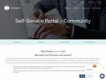 Free Self-Service Portal for Microsoft Service Manager   Cireson