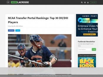 NCAA Transfer Portal Rankings: Top 30 DII/DIII Players ...