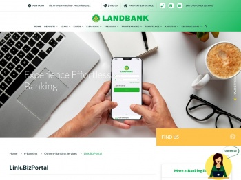Link.BizPortal - Land Bank of the Philippines   e-Banking