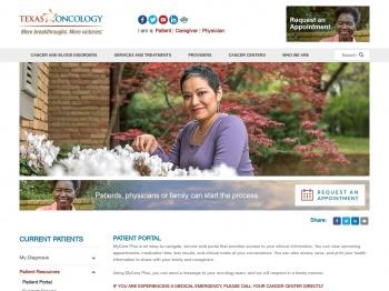 MyCare Plus Patient Portal   Texas Oncology